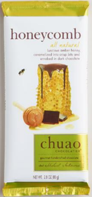 Chuao honeycomb chocolate bar